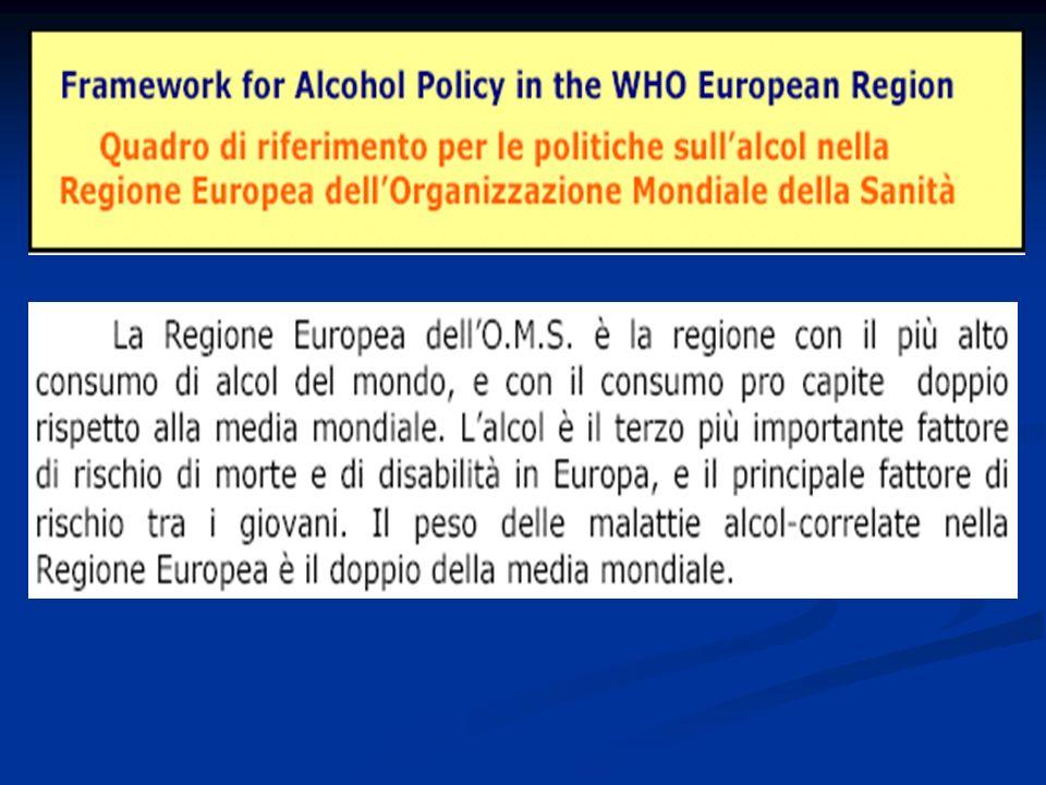 Il tema di questa Conferenza è particolarmente importante perché mette laccento su una complicità micidiale: quella della società con il consumo dellalcol.