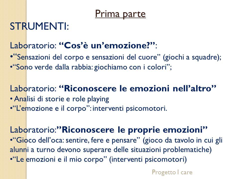 Seconda parte OBIETTIVI PRINCIPALI: identificare modalità di interazione efficaci miglioramento della relazione tra pari interiorizzazione di regole di cooperazione.