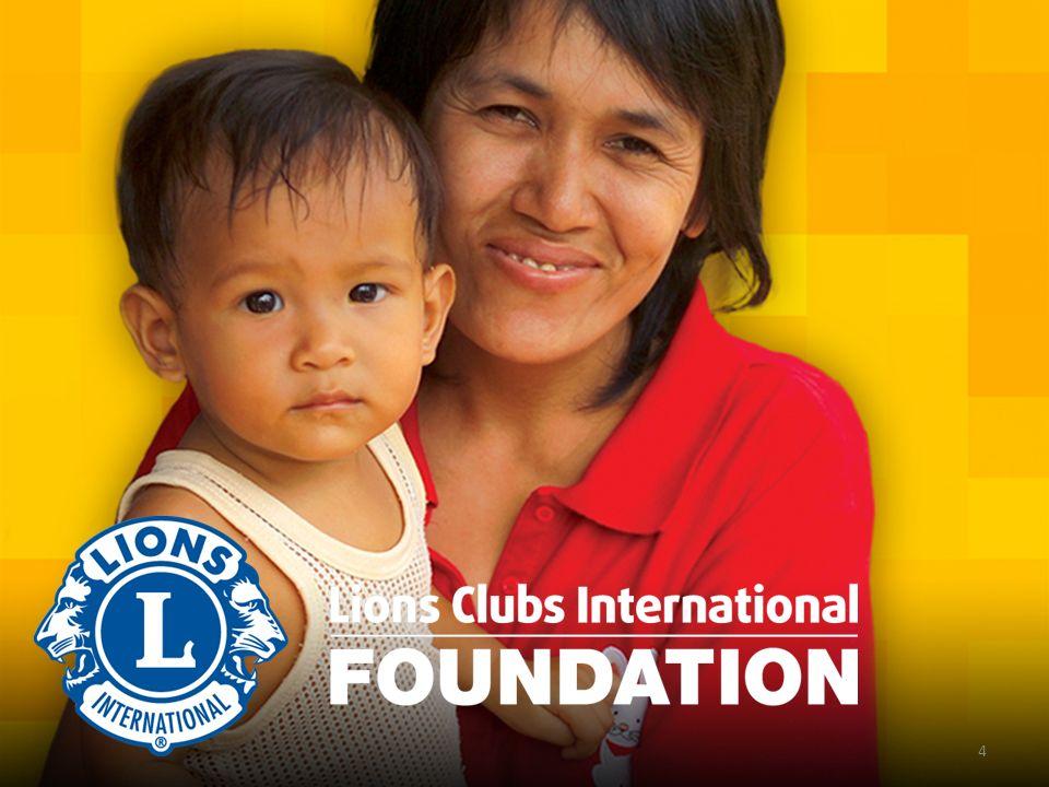 La nostra vision Sostenere gli sforzi dei Lions club in tutto il mondo nel servizio delle comunità locali e internazionali e nel loro impegno in progetti di servizio umanitario essenziali We Care.