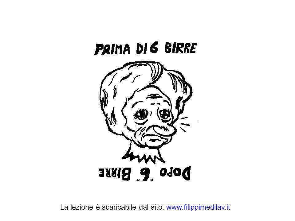 La lezione è scaricabile dal sito: www.filippimedilav.it