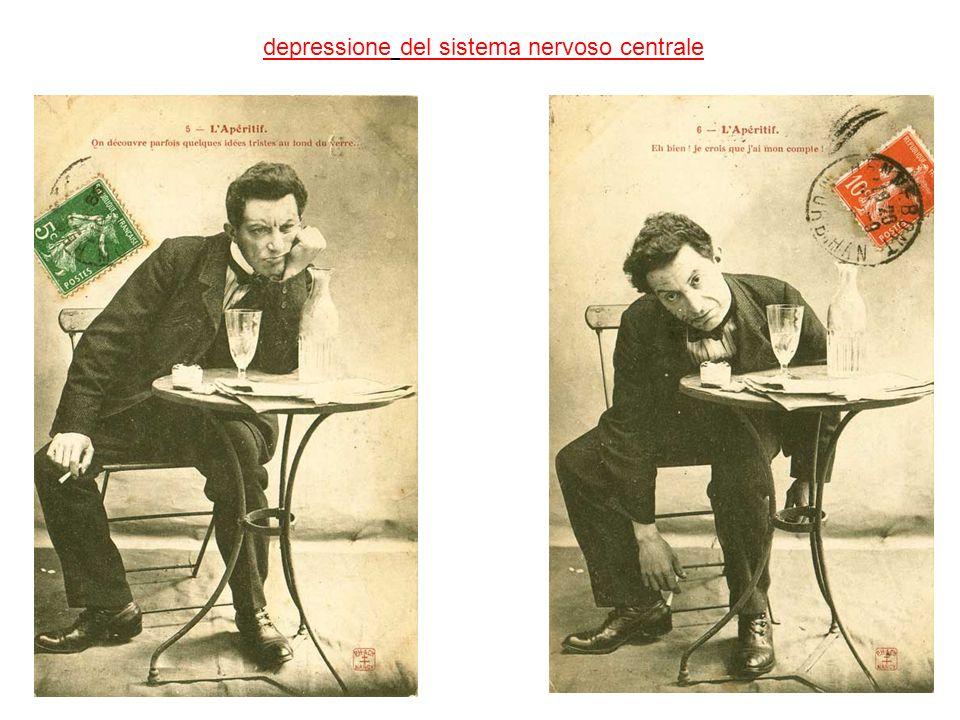 depressione del sistema nervoso centrale