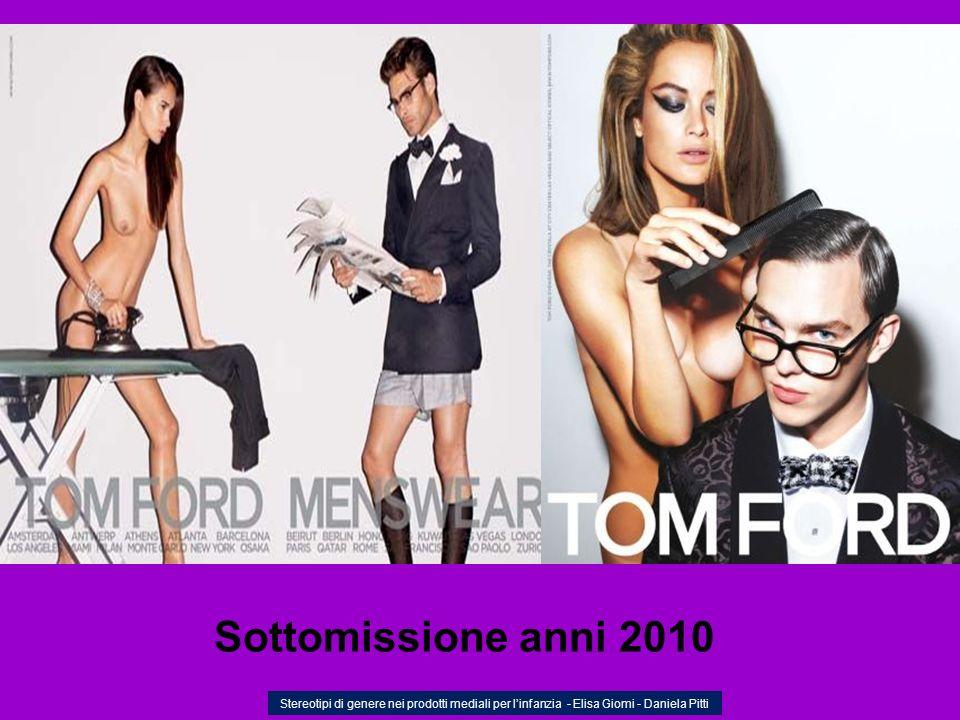 Sottomissione anni 2010 Stereotipi di genere nei prodotti mediali per linfanzia - Elisa Giomi - Daniela Pitti