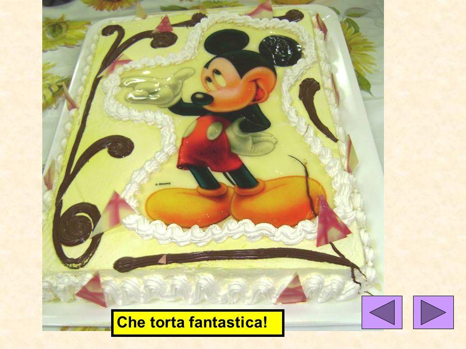 Che torta fantastica!