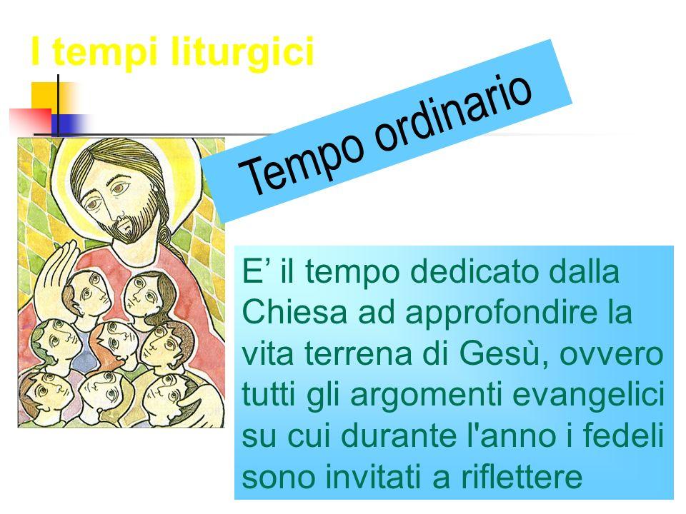 E il tempo dedicato dalla Chiesa ad approfondire la vita terrena di Gesù, ovvero tutti gli argomenti evangelici su cui durante l'anno i fedeli sono in