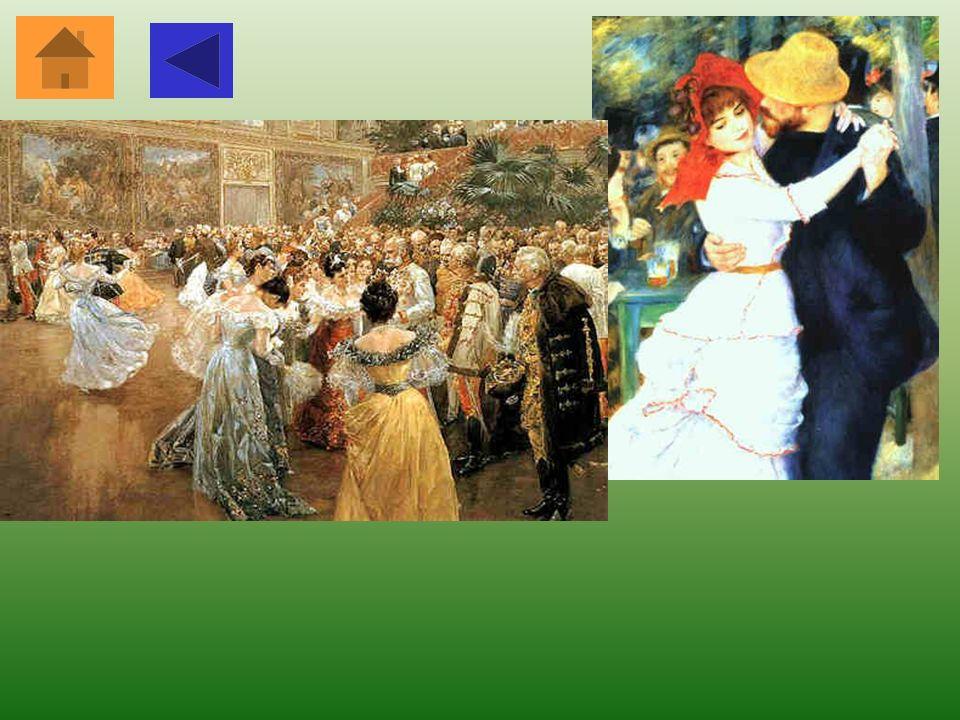Valzer Viennese All'inizio fu ritenuto un ballo osceno, ma con il Congresso di Vienna nel 1815 e con le musiche di Johann Strauss il valzer viennese d