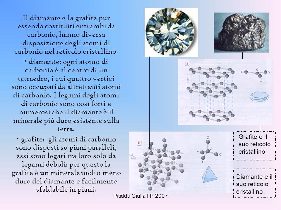 Pitiddu Giulia I P 2007 I silicati sono i minerali più diffusi della crosta terrestre; da soli costituiscono infatti il 95% delle rocce della crosta.