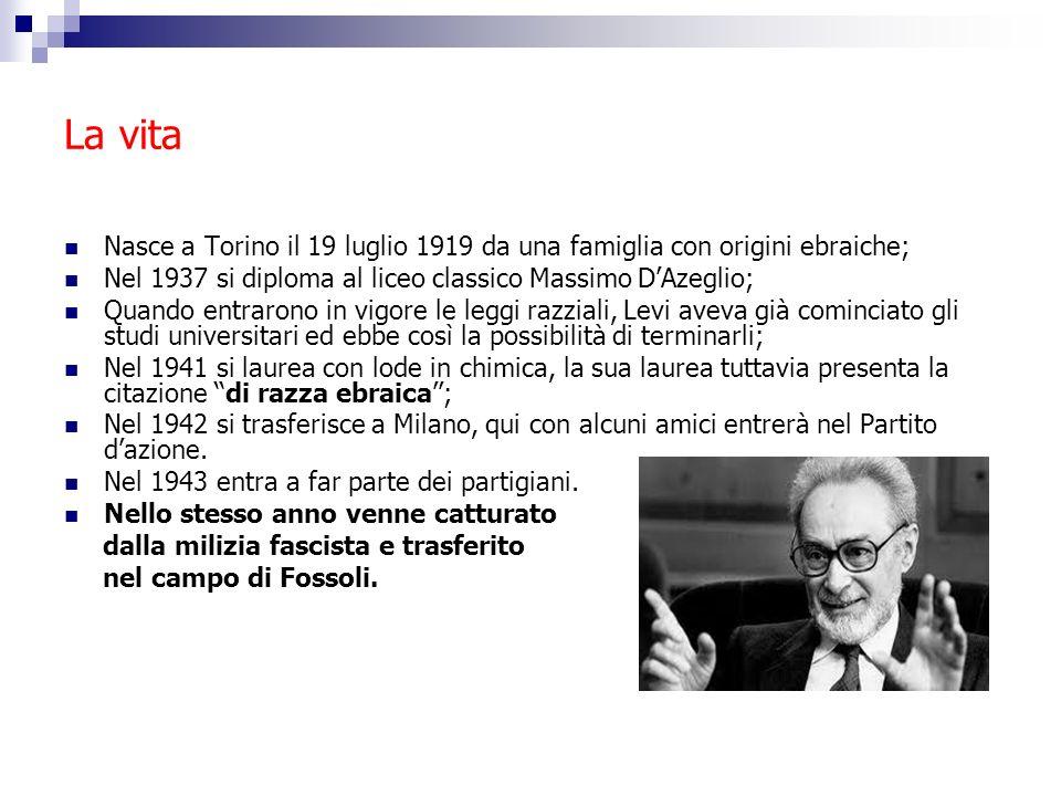 La vita Nasce a Torino il 19 luglio 1919 da una famiglia con origini ebraiche; Nel 1937 si diploma al liceo classico Massimo DAzeglio; Quando entraron