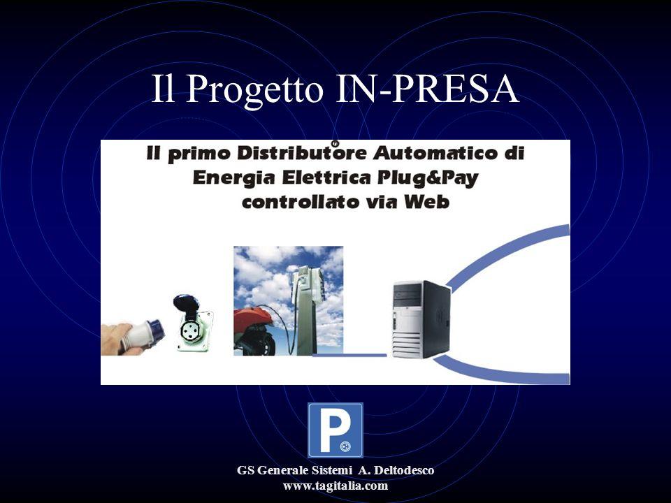 GS Generale Sistemi A. Deltodesco www.tagitalia.com Il Progetto IN-PRESA