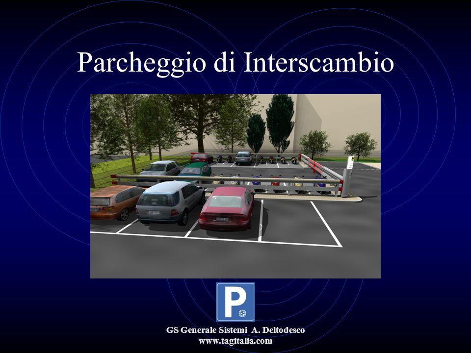 GS Generale Sistemi A. Deltodesco www.tagitalia.com Parcheggio di Interscambio
