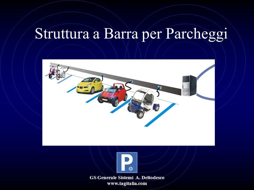 GS Generale Sistemi A. Deltodesco www.tagitalia.com Struttura a Barra per Parcheggi