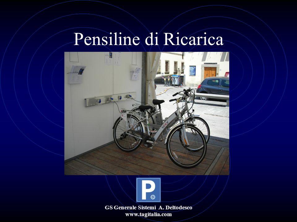 GS Generale Sistemi A. Deltodesco www.tagitalia.com Pensiline di Ricarica