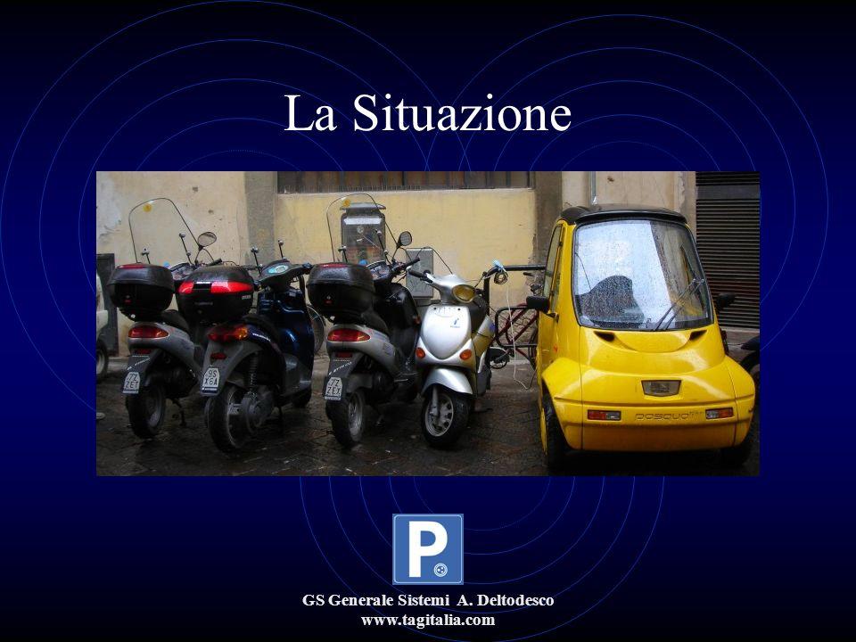 GS Generale Sistemi A. Deltodesco www.tagitalia.com La Situazione