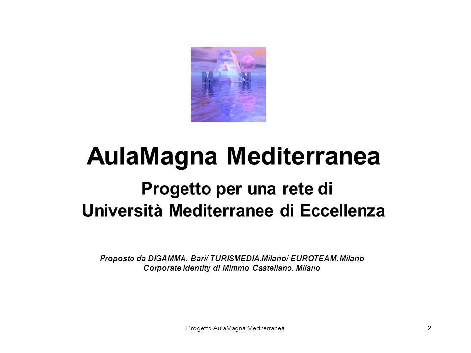 Progetto AulaMagna Mediterranea2 Proposto da DIGAMMA.
