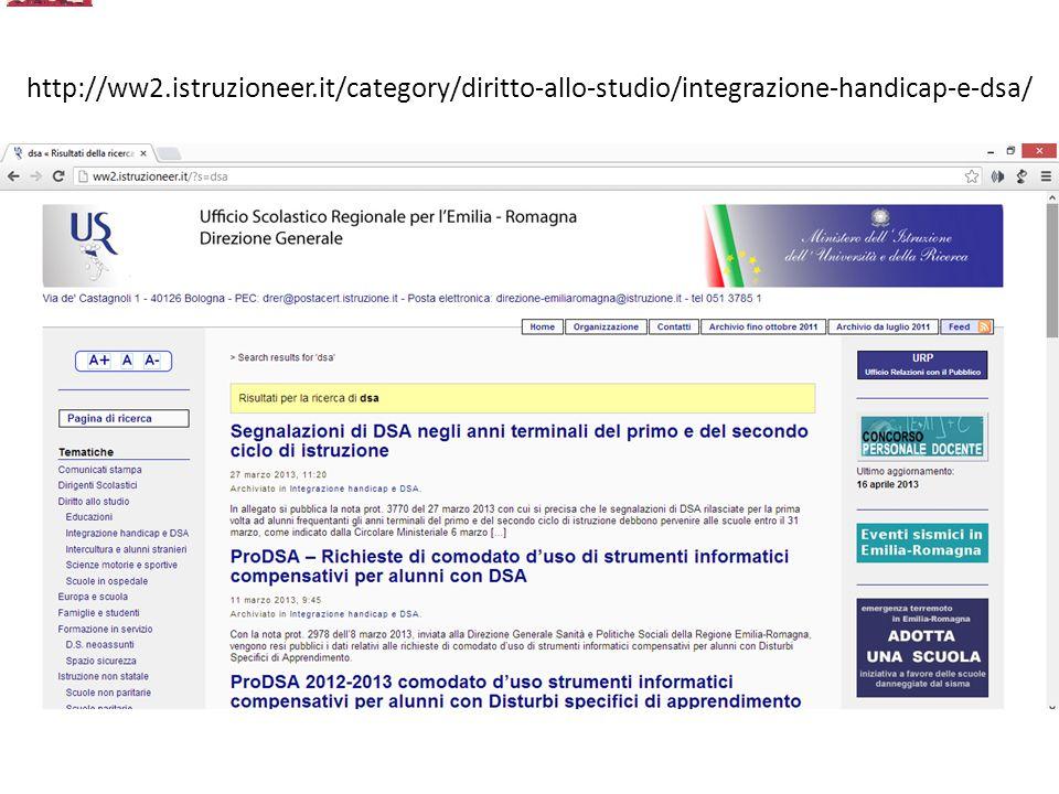 http://ww2.istruzioneer.it/category/diritto-allo-studio/integrazione-handicap-e-dsa/