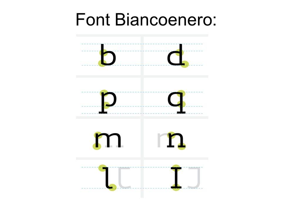 Font Biancoenero: