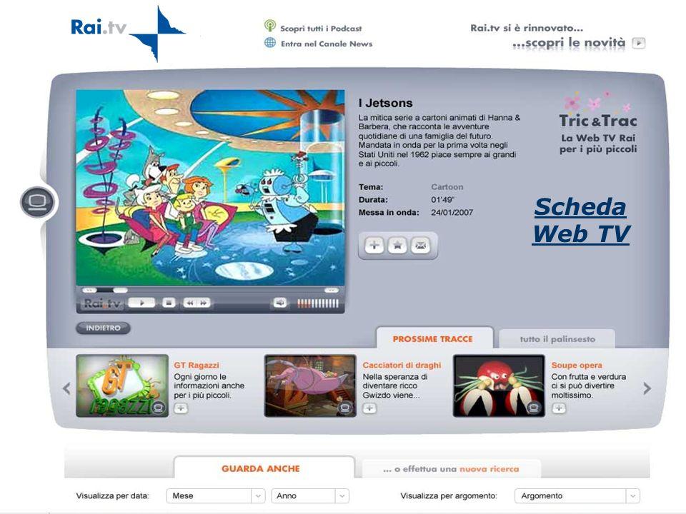 17 Scheda Web TV