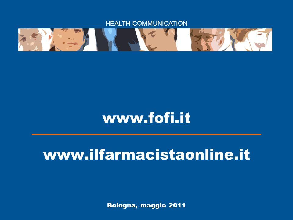 I nuovi servizi web della Fofi 22 Il Farmacistaonline: un bilancio dei primi 4 mesi 5° 29 marzo 2011 4.958 volte Parafarmacie, quali prospettive (e rischi) per la fascia C 6° 16 febbraio 2011 4.636 volte Milleproroghe.
