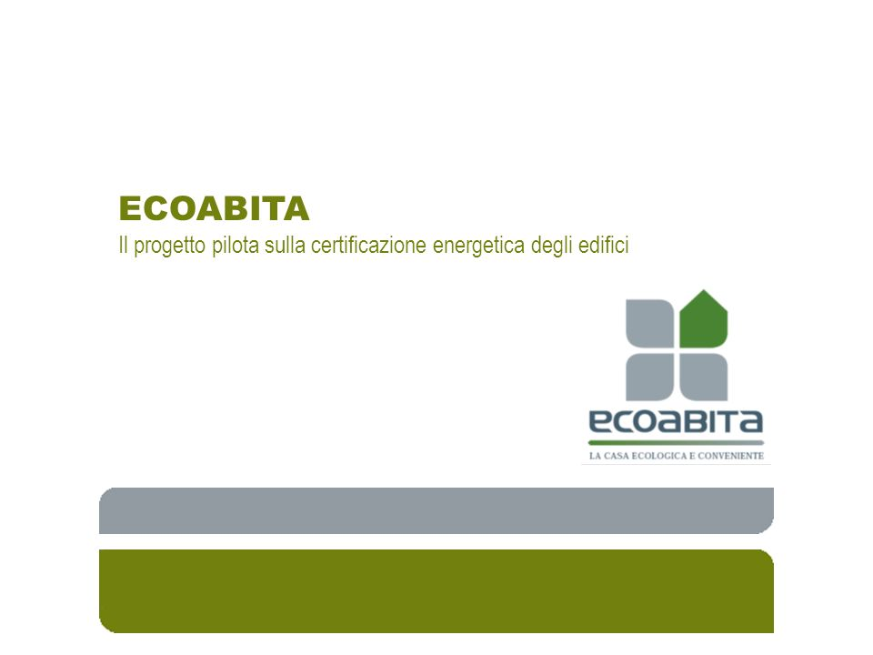 Metodologie di calcolo www.ecoabita.it 1.