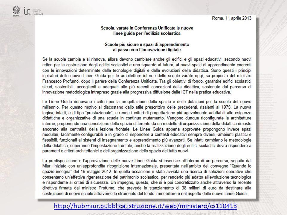 http://hubmiur.pubblica.istruzione.it/web/ministero/cs110413