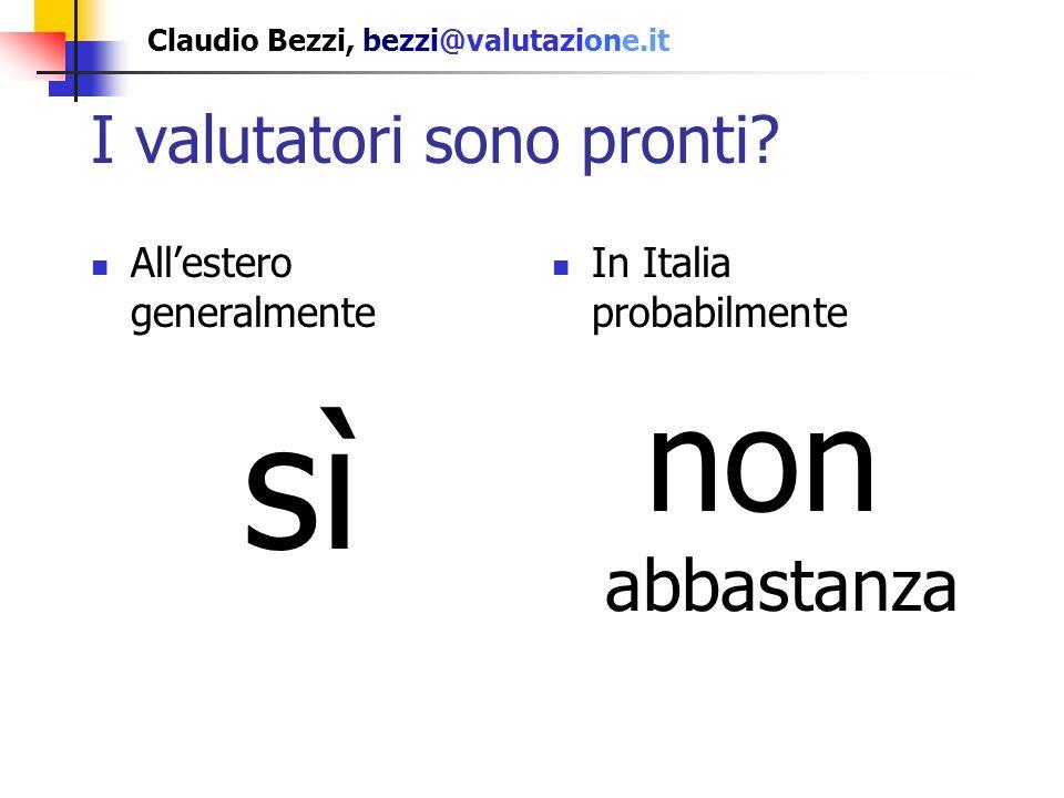 Claudio Bezzi, bezzi@valutazione.it basato solo sullanalisi degli articoli della RIV dal 2000 al 2005