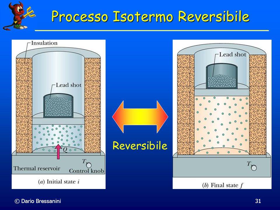 © Dario Bressanini31 Processo Isotermo Reversibile Reversibile