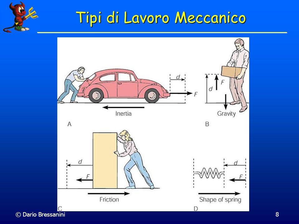 © Dario Bressanini8 Tipi di Lavoro Meccanico
