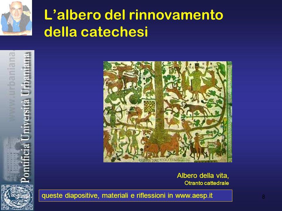 8 Lalbero del rinnovamento della catechesi queste diapositive, materiali e riflessioni in www.aesp.it Albero della vita, Otranto cattedrale