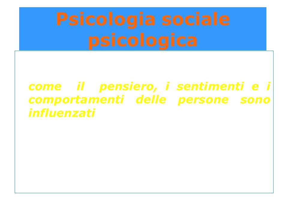 Condizionamento operante Risposta spontanea della persona Conse- guenze positive Conse- guenze negative + + = = R più frequente R meno frequente