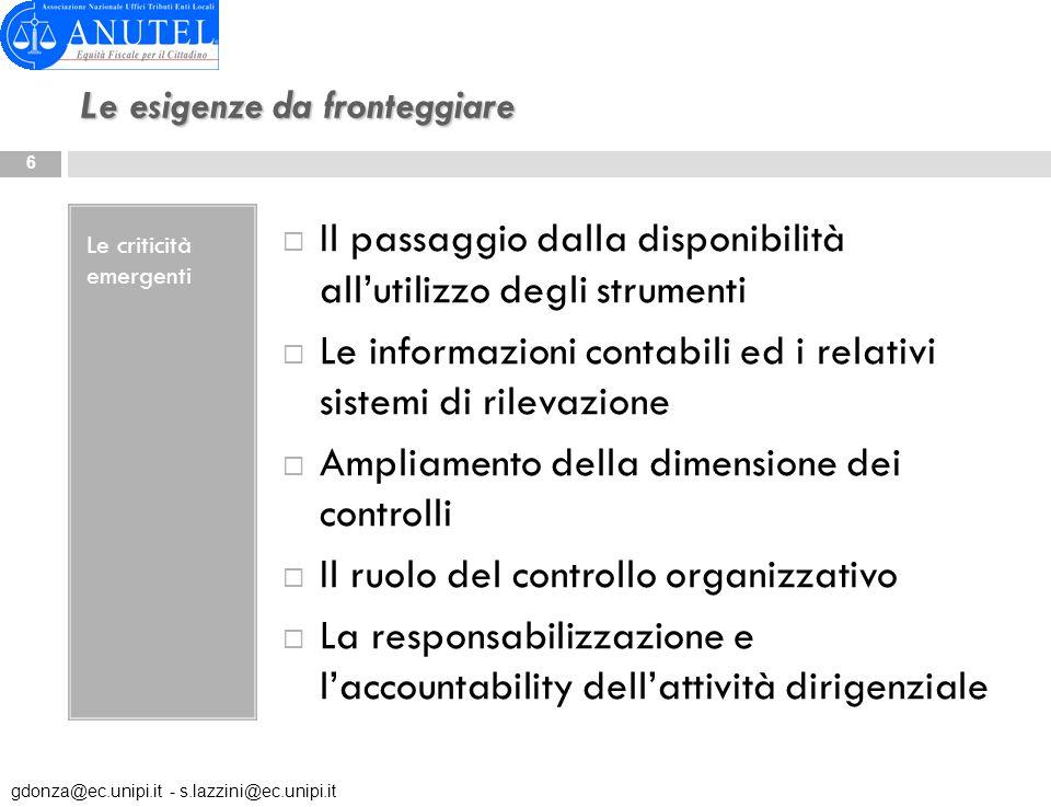 Definizione di internal audit E unattività indipendente ed obiettiva di assurance e consulenza, finalizzata al miglioramento dellefficacia e dellefficienza dellorganizzazione.