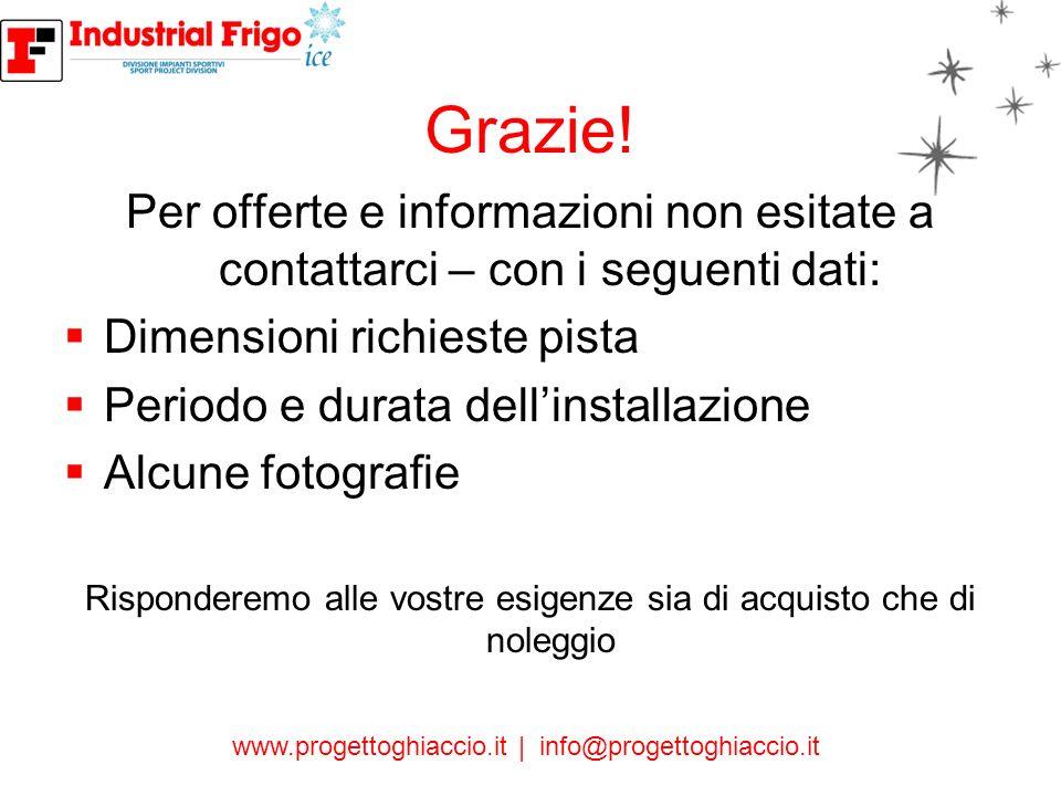 www.progettoghiaccio.it | info@progettoghiaccio.it CONTATTI Industrial Frigo ICE S.r.l: Ph.