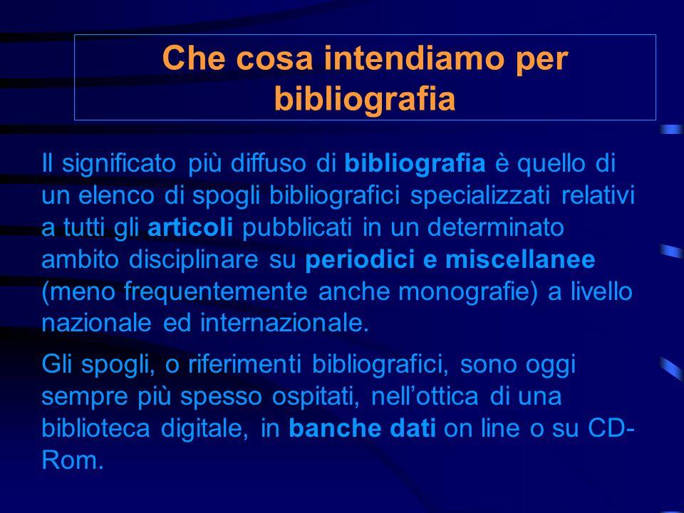 Il link al database dei periodici elettronici dellUniversità di Parma http://bibel.unipr.it/elenco.php