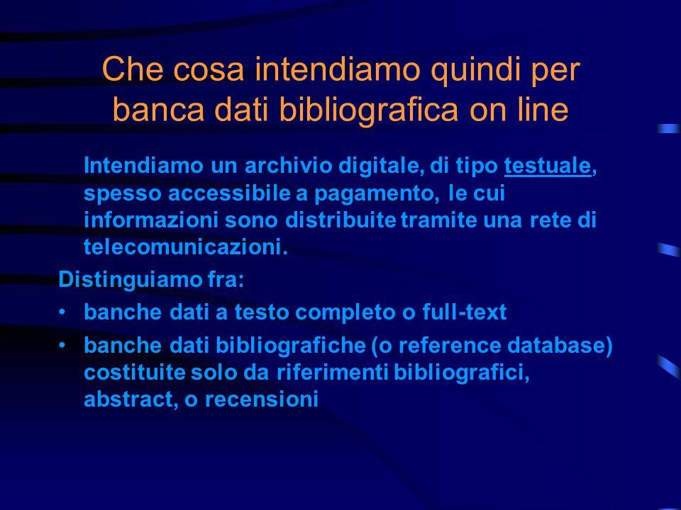Che cosa intendiamo per bibliografia Il significato più diffuso di bibliografia è quello di un elenco di spogli bibliografici specializzati relativi a