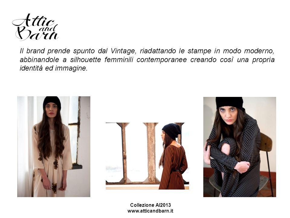 Il brand prende spunto dal Vintage, riadattando le stampe in modo moderno, abbinandole a silhouette femminili contemporanee creando così una propria i
