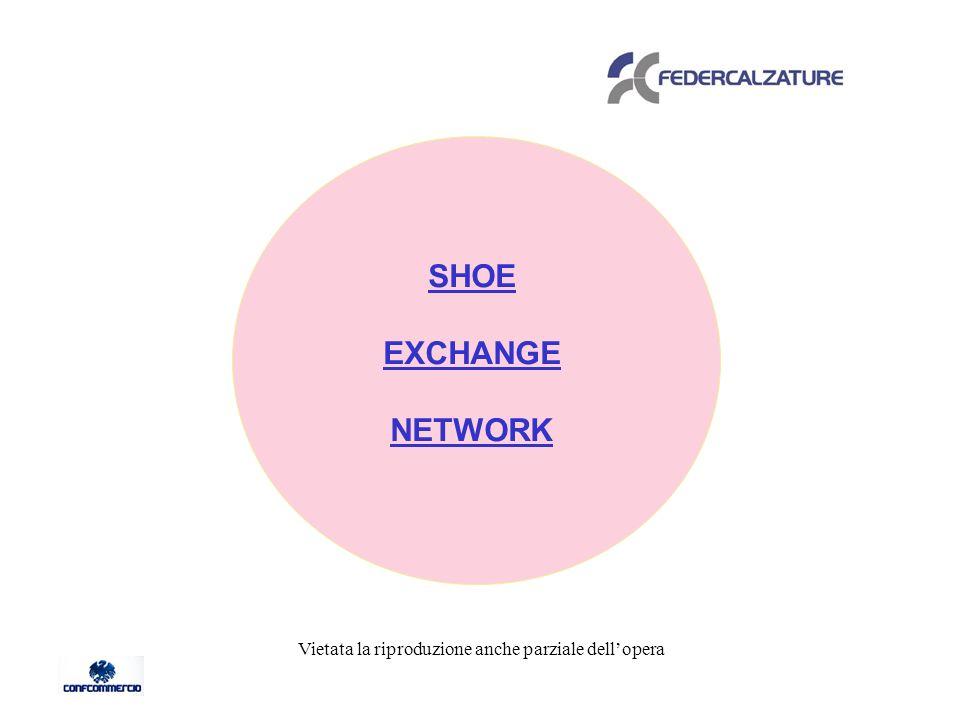 SHOE EXCHANGE NETWORK Vietata la riproduzione anche parziale dellopera