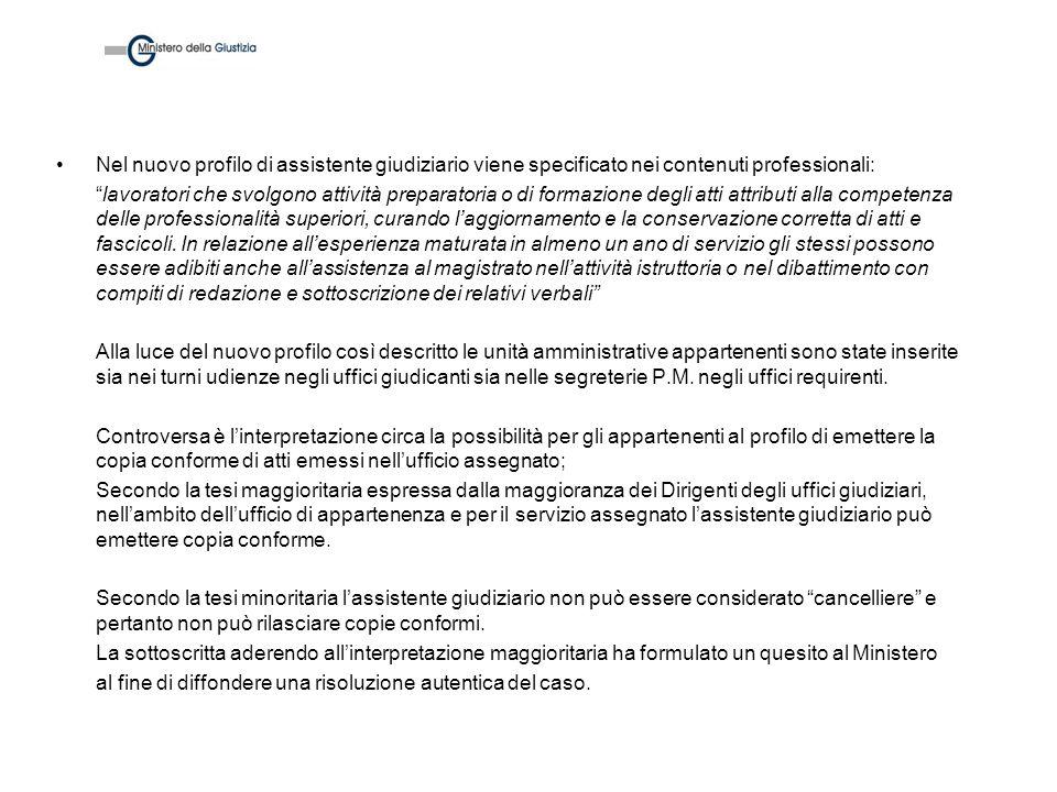 Registri penali in uso alla Procura Ricezione notizia criminis ex art.109 Disp.