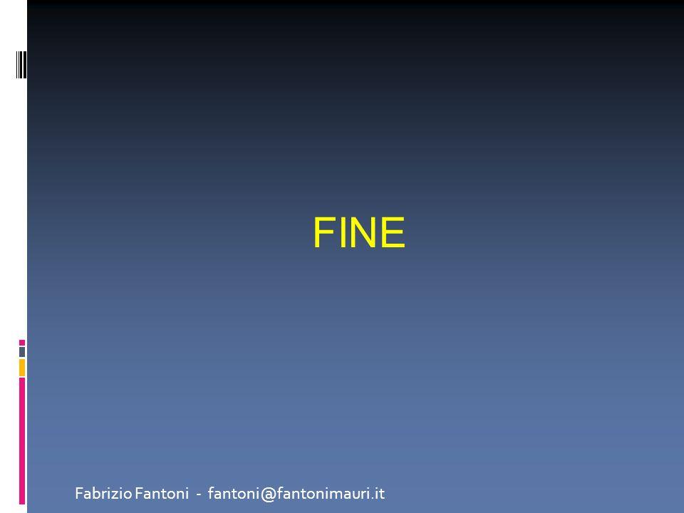 FINE Fabrizio Fantoni - fantoni@fantonimauri.it