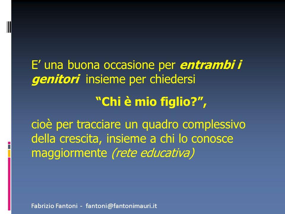 Una scelta realistica deve rispettare le caratteristiche individuali : le attitudini le abilità acquisite gli interessi i limiti dei ragazzi Fabrizio Fantoni - fantoni@fantonimauri.it