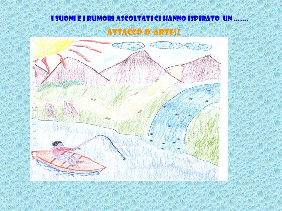 SUONI E RUMORI CHE SI POSSONO UDIRE AL FIUME Il rumore dellacqua che scorre; Il cinguettio degli uccelli; Il gorgoglio dellacqua che batte contro un l