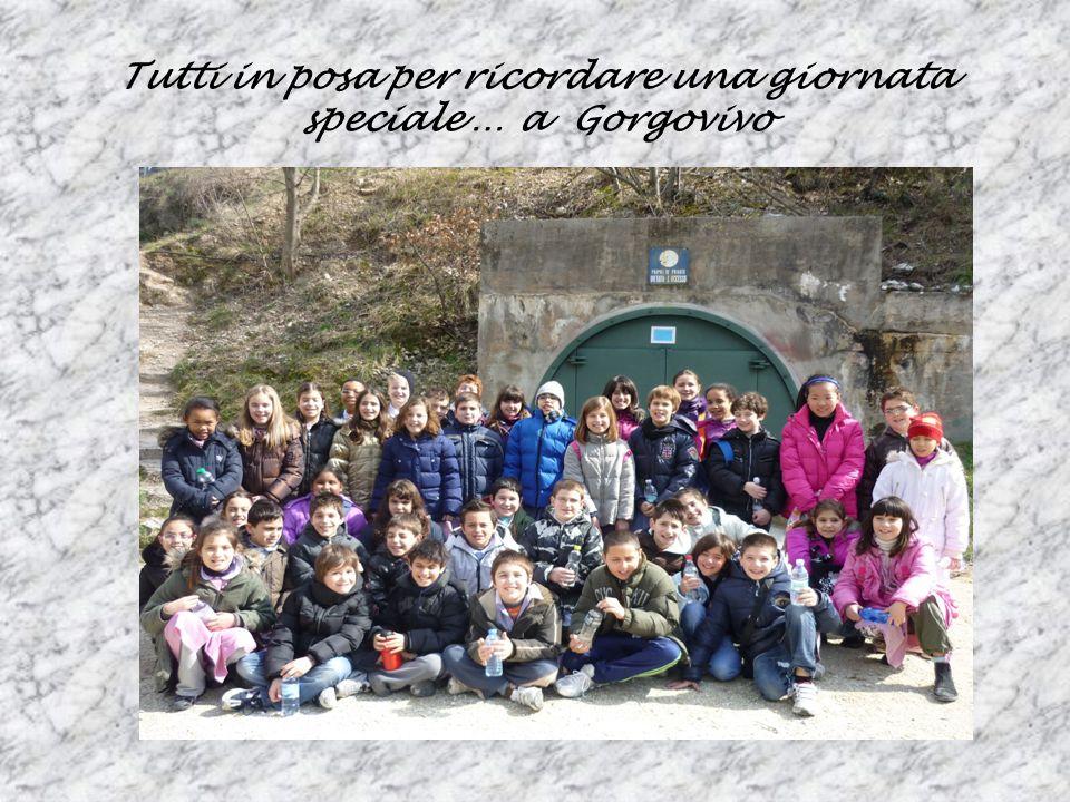 Tutti in posa per ricordare una giornata speciale … a Gorgovivo