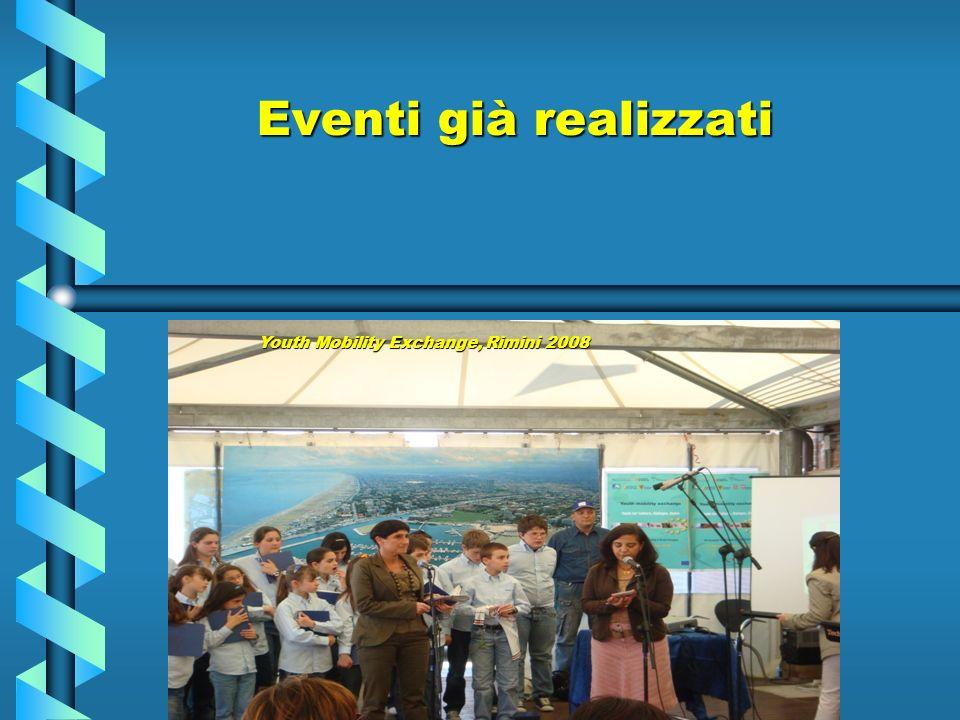 Eventi già realizzati Youth Mobility Exchange, Rimini 2008