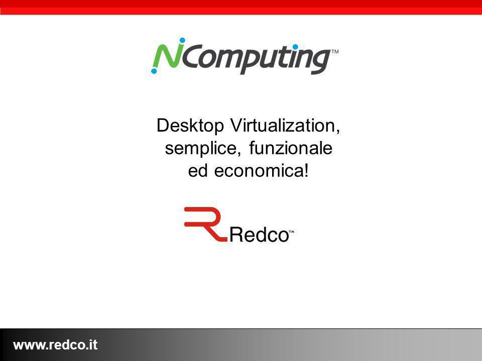 www.redco.it Desktop Virtualization, semplice, funzionale ed economica!