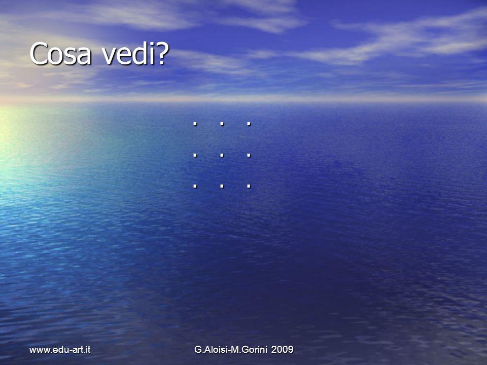 www.edu-art.itG.Aloisi-M.Gorini 2009 Che cosa significa scoprire linvisibile.