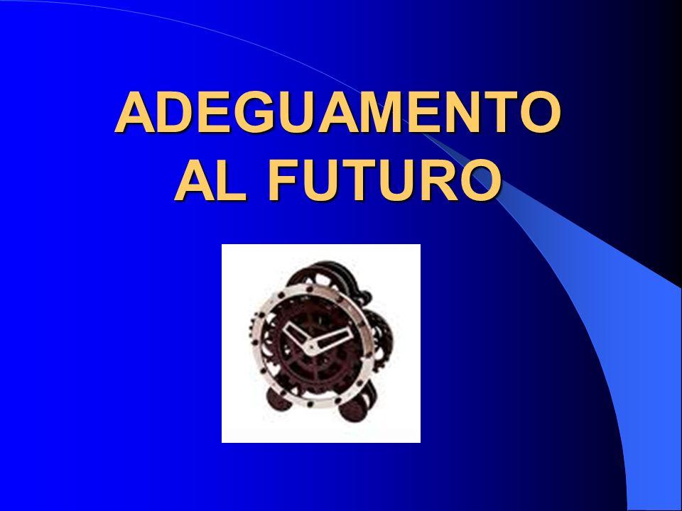 ADEGUAMENTO AL FUTURO