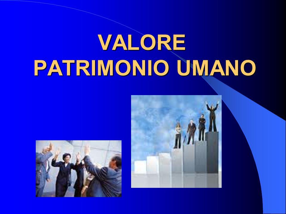 VALORE PATRIMONIO UMANO