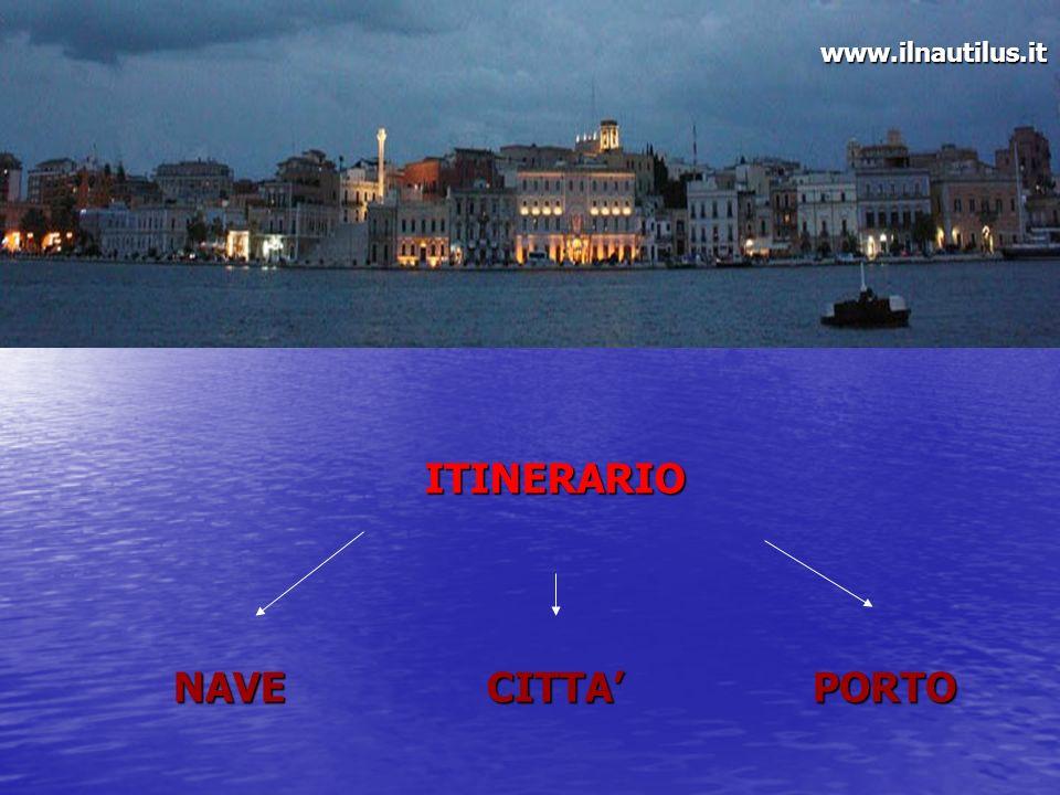 ITINERARIO NAVECITTAPORTO www.ilnautilus.it