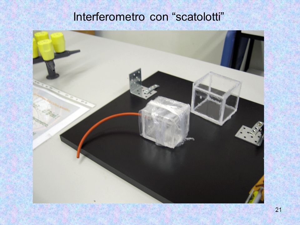 20 BIBLIOGRAFIA Microsoft Encarta Enciclopedia SISSA Scuola Internazionale Superiore di Studi Avanzati http://ulisse.sissa.it Liceo