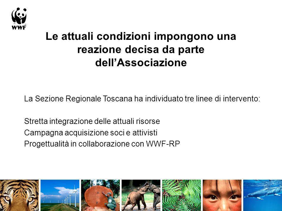 Le attuali condizioni impongono una reazione decisa da parte dellAssociazione La Sezione Regionale Toscana ha individuato tre linee di intervento: Str