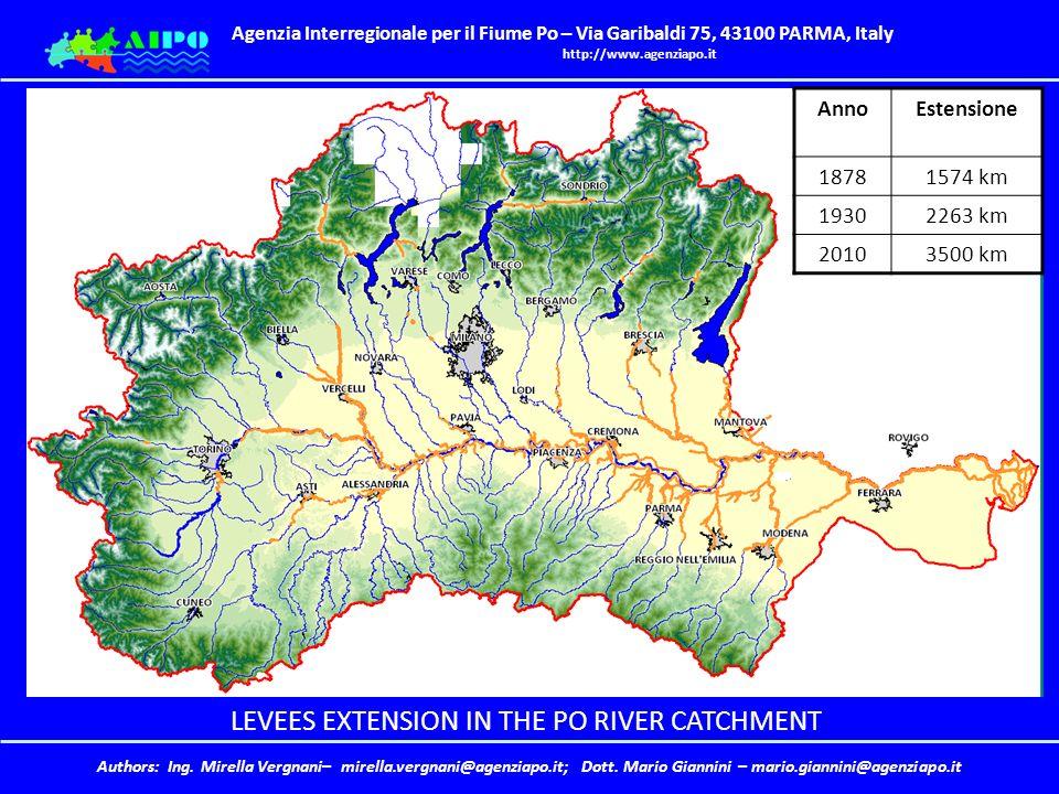 Agenzia Interregionale per il Fiume Po – Via Garibaldi 75, 43100 PARMA, Italy http://www.agenziapo.it Authors: Ing.