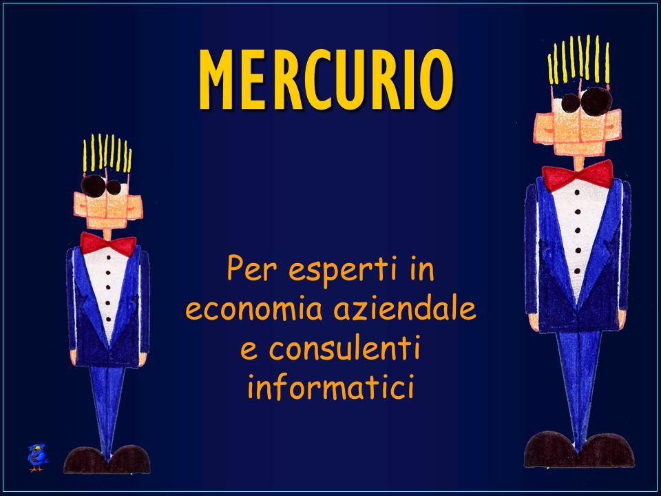 MERCURIO Per esperti in economia aziendale e consulenti informatici