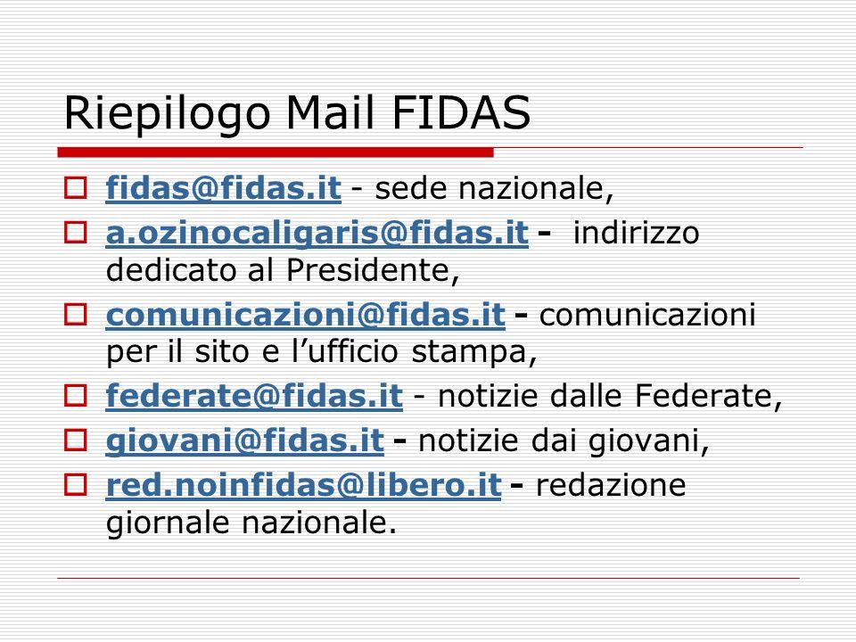 Nascita di www.fidasgiovani.it Progetto iniziale integrato in www.fidas.it Costoso Poco flessibile Fortemente impegnativo per il futuro Dubbio sull opportunità di rivedere completamente www.fidas.it per accessibilità